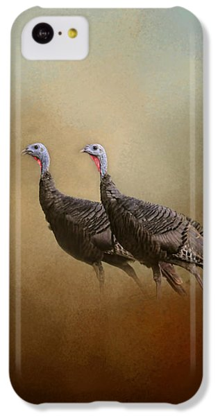 Wild Turkey At Shiloh IPhone 5c Case by Jai Johnson