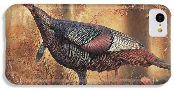Wild Turkey IPhone 5c Case by Hans Droog
