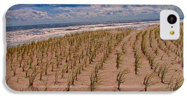 Wildwood Beach Breezes  IPhone 5c Case by David Dehner