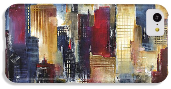 Windy City Nights IPhone 5c Case by Kathleen Patrick