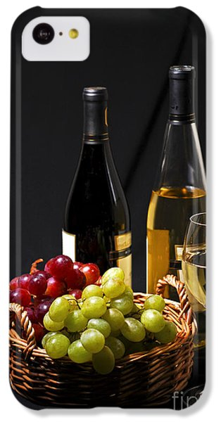 Wine And Grapes IPhone 5c Case by Elena Elisseeva