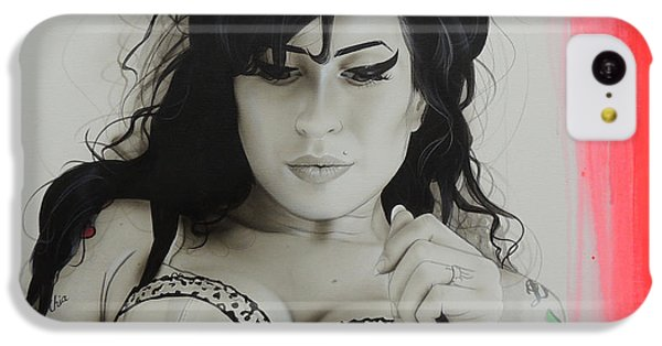 Amy Winehouse - 'winehouse' IPhone 5c Case by Christian Chapman Art