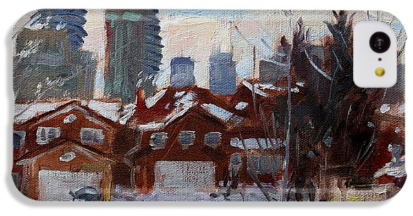 Winter In Mississauga  IPhone 5c Case by Ylli Haruni