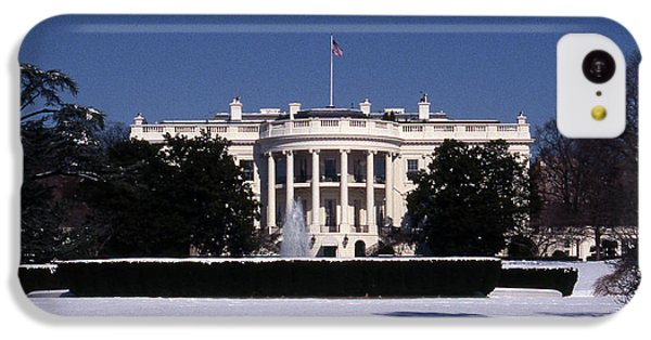 Winter White House  IPhone 5c Case by Skip Willits