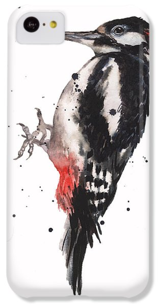 Wise Woody IPhone 5c Case by Alison Fennell