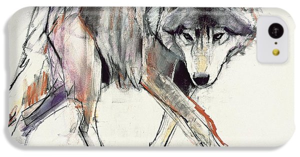 Wolf  IPhone 5c Case by Mark Adlington