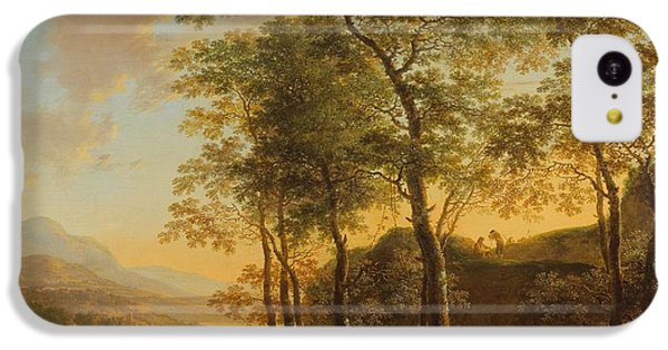 Wooded Hillside With A Vista IPhone 5c Case by Jan Both