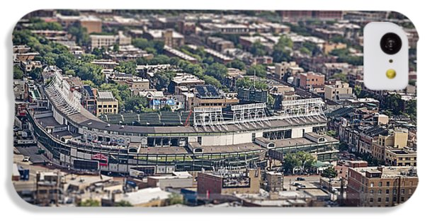 Wrigley Field - Home Of The Chicago Cubs IPhone 5c Case by Adam Romanowicz