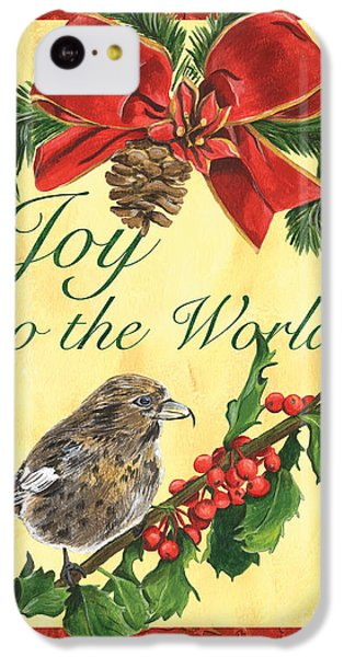 Xmas Around The World 2 IPhone 5c Case by Debbie DeWitt