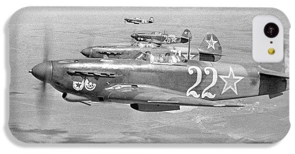 Yakovlev Yak-9 Fighters, 1942 IPhone 5c Case by Ria Novosti
