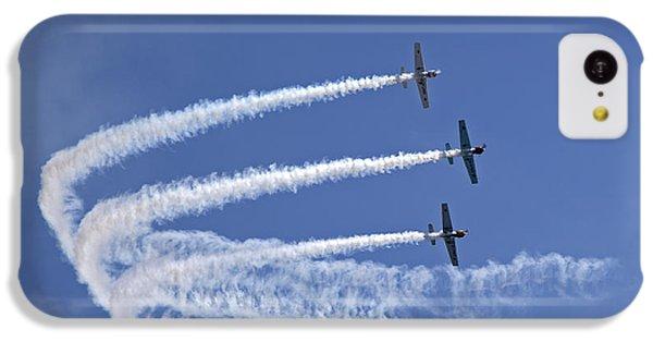 Yaks Aerobatics Team IPhone 5c Case by Jane Rix