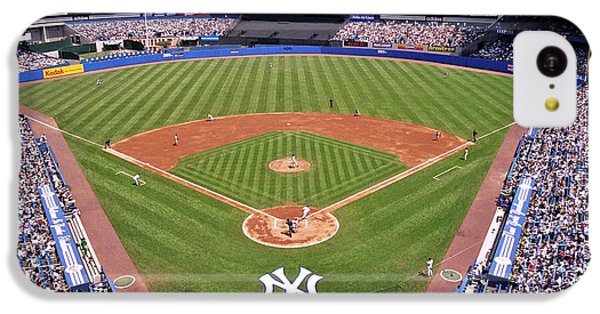 Yankee Stadium IPhone 5c Case by Allen Beatty