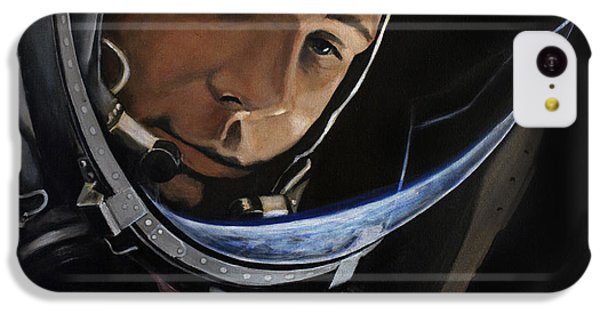 Yuri Alekseyevich Gagarin IPhone 5c Case by Simon Kregar