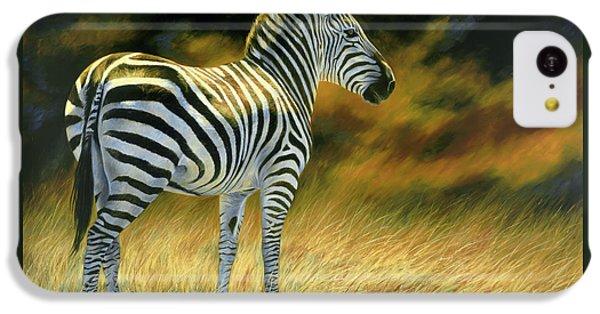 Zebra IPhone 5c Case by Lucie Bilodeau