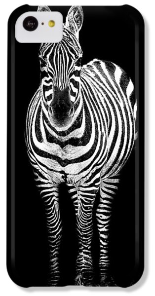 Zebra IPhone 5c Case by Paul Neville