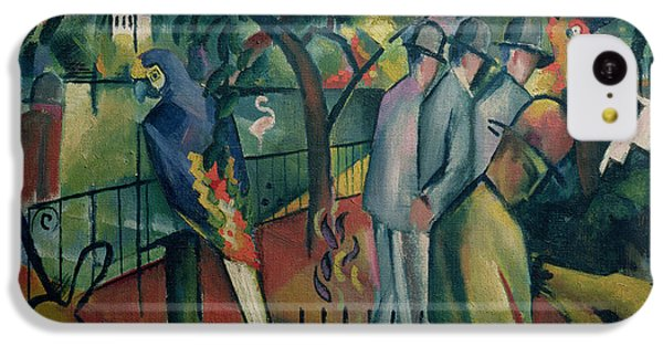 Zoological Garden I, 1912 Oil On Canvas IPhone 5c Case by August Macke