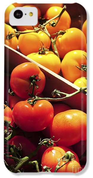 Tomatoes On The Market IPhone 5c Case by Elena Elisseeva