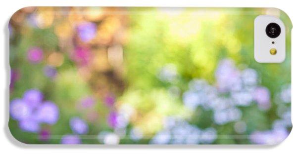 Flower Garden In Sunshine IPhone 5c Case by Elena Elisseeva