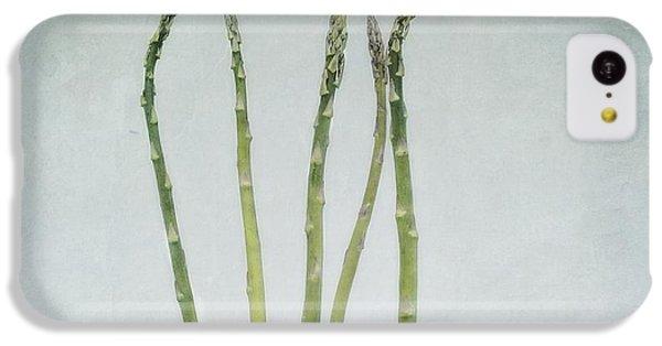 A Bunch Of Asparagus IPhone 5c Case by Priska Wettstein