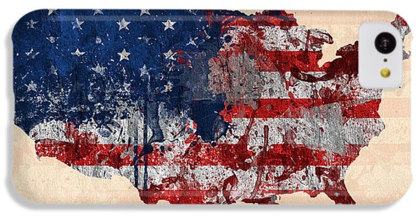America IPhone 5c Case by Mark Ashkenazi