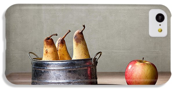 Apple And Pears 01 IPhone 5c Case by Nailia Schwarz