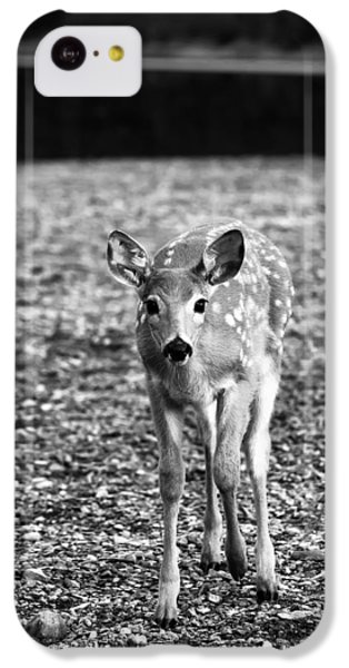 Bambi In Black And White IPhone 5c Case by Sebastian Musial