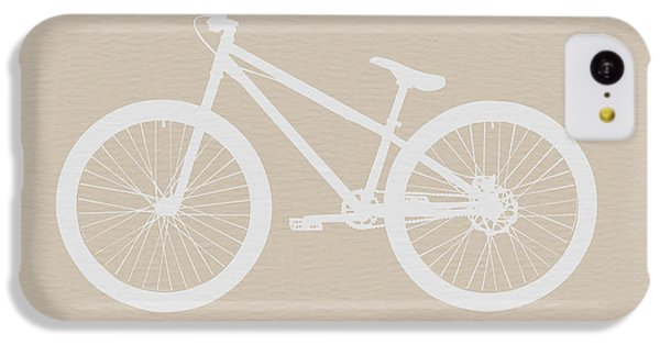 Bicycle Brown Poster IPhone 5c Case by Naxart Studio