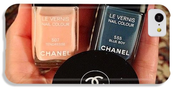 Chanel iPhone 5C Cases - Christmas With #chanel iPhone 5C Case by Silvia Chiesa