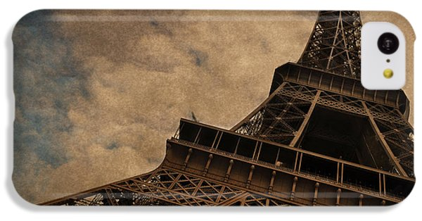 Eiffel Tower 2 IPhone 5c Case by Mary Machare