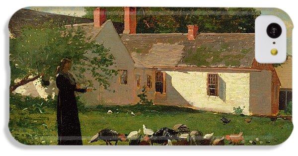Farmyard Scene IPhone 5c Case by Winslow Homer