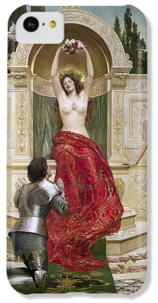 In The Venusburg IPhone 5c Case by John Collier