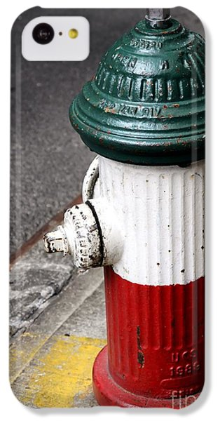 Italian Fire Hydrant IPhone 5c Case by Sophie Vigneault