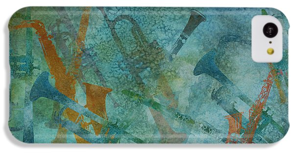 Jazz Improvisation One IPhone 5c Case by Jenny Armitage