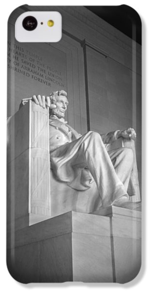 Lincoln Memorial  IPhone 5c Case by Mike McGlothlen