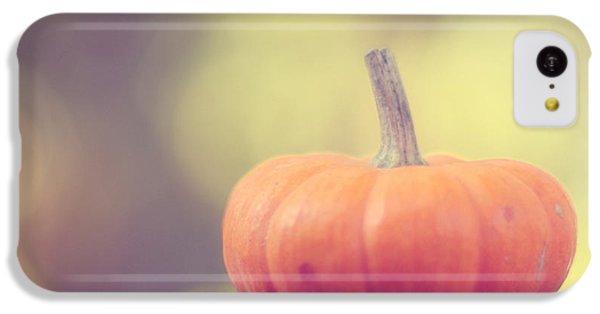 Little Pumpkin IPhone 5c Case by Amy Tyler