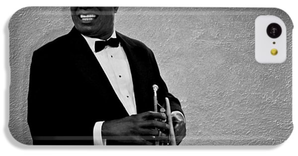 Louis Armstrong Bw IPhone 5c Case by David Dehner