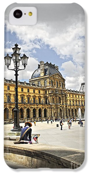 Louvre Museum IPhone 5c Case by Elena Elisseeva