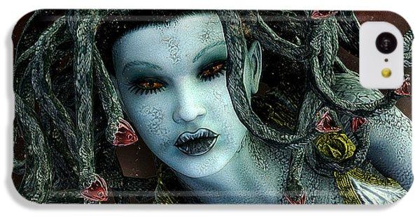 Medusa IPhone 5c Case by Jutta Maria Pusl