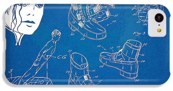 Michael Jackson Anti-gravity Shoe Patent Artwork IPhone 5c Case by Nikki Marie Smith