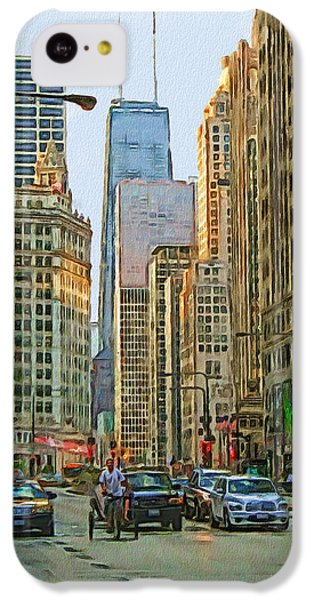 Michigan Avenue IPhone 5c Case by Vladimir Rayzman