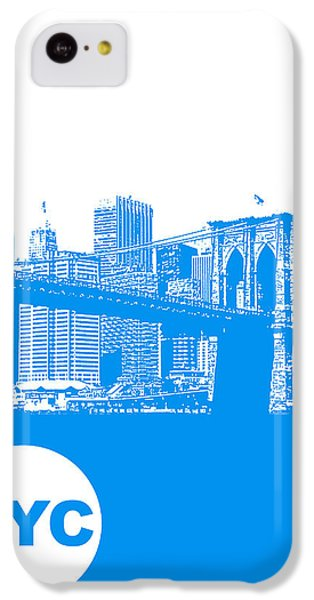 New York Poster IPhone 5c Case by Naxart Studio