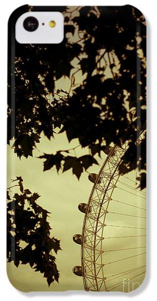 October Mist IPhone 5c Case by Jan Bickerton