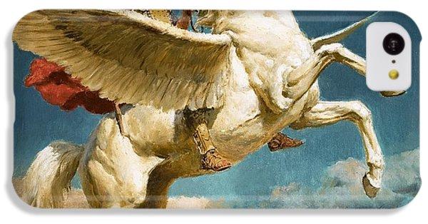 Pegasus The Winged Horse IPhone 5c Case by Fortunino Matania