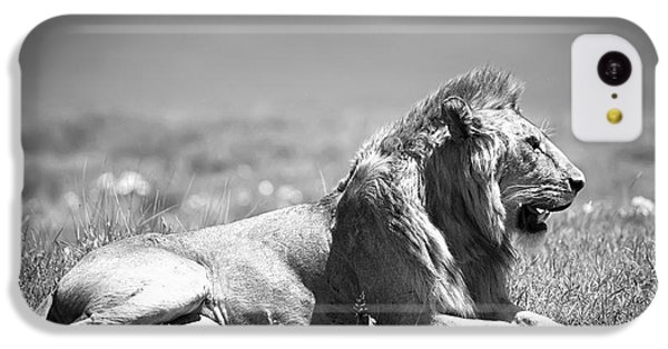 Pride In Black And White IPhone 5c Case by Sebastian Musial