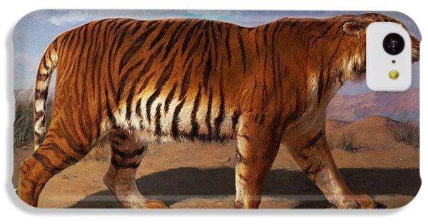 Stalking Tiger IPhone 5c Case by Rosa Bonheur