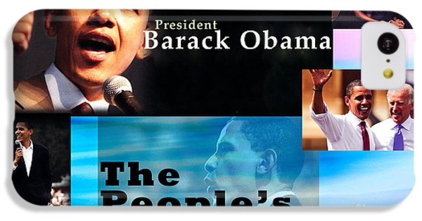 The People's President IPhone 5c Case by Terry Wallace