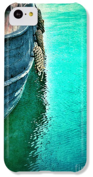 Vintage Ship IPhone 5c Case by Jill Battaglia