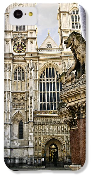 Westminster Abbey IPhone 5c Case by Elena Elisseeva