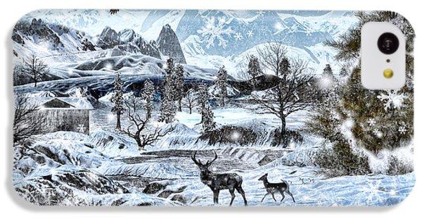 Winter Wonderland IPhone 5c Case by Lourry Legarde