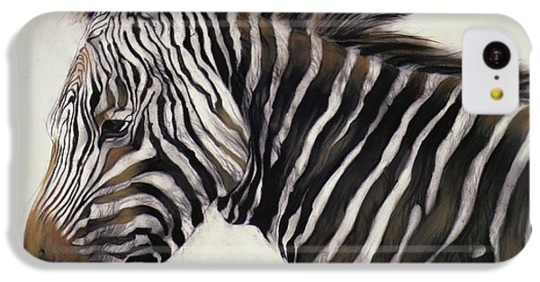 Zebra  IPhone 5c Case by Odile Kidd